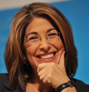 US journalist Naomi Klein, columnist for